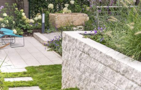Mauer Garten Ehmke